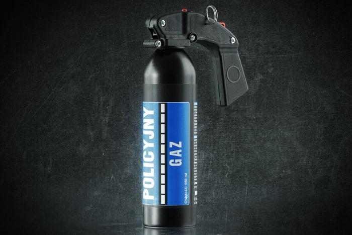 Gaz pieprzowy Policyjny Strumień