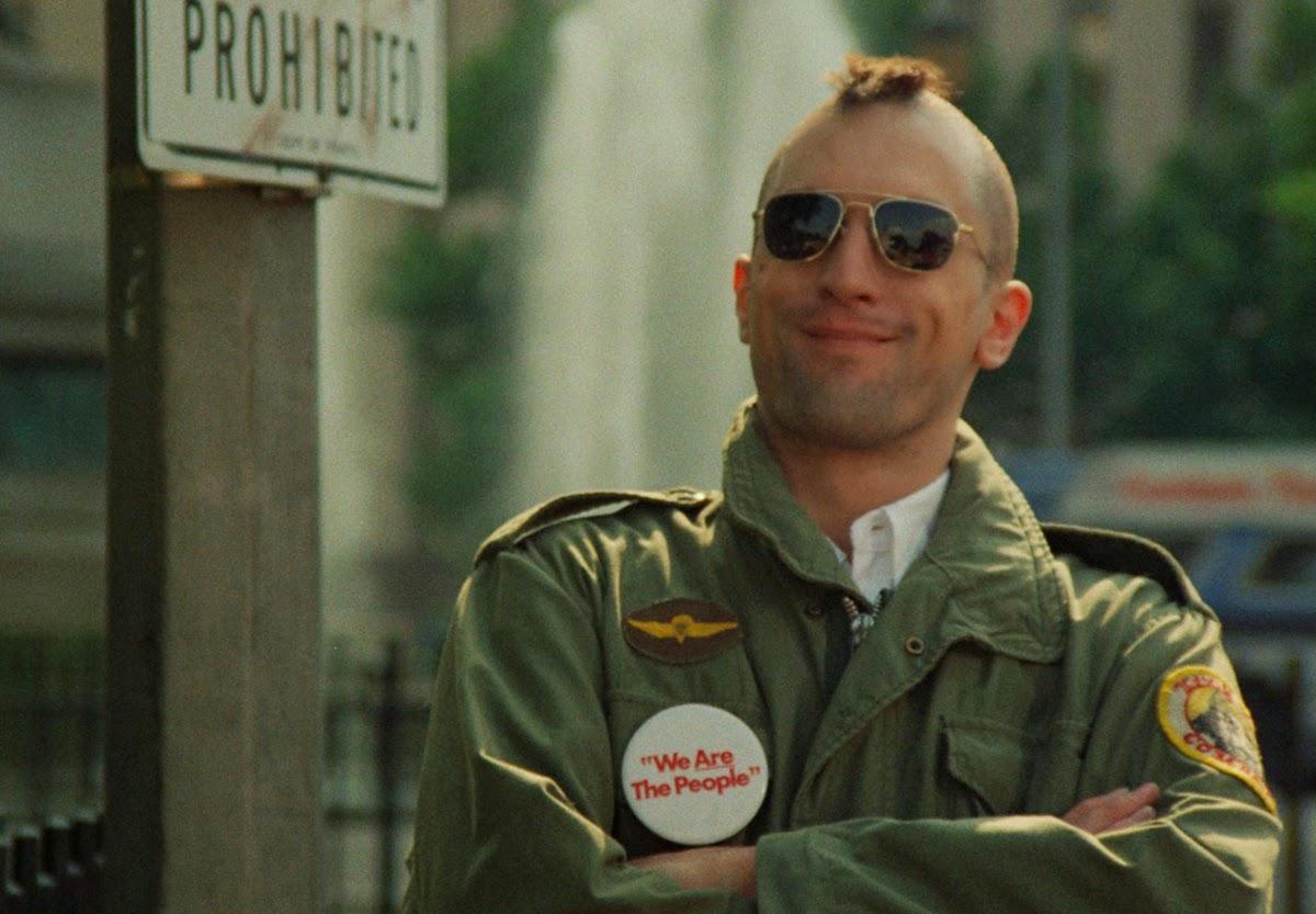 Travis Bickle w M65: ikona popkultury.