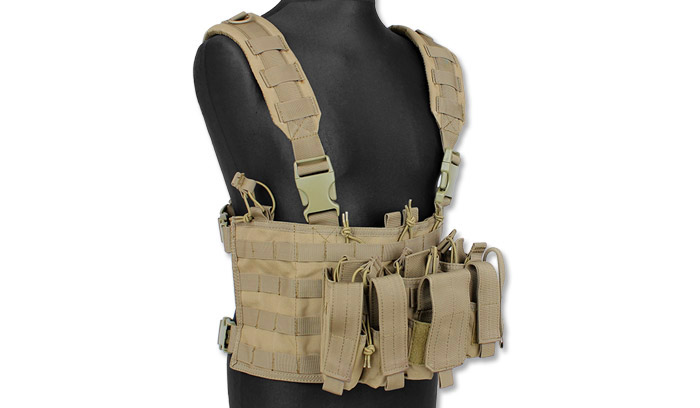 Condor – Recon Chest Rig – Coyote Tan