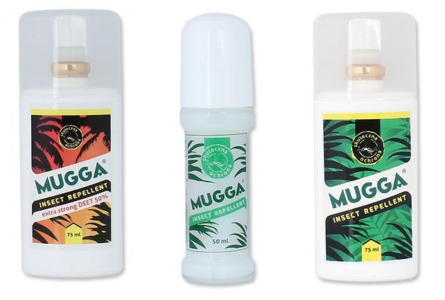 Mugga – Preparat odstraszający owady